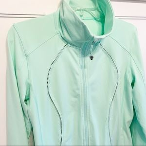 Lululemon |  Nice Asana Jacket, Fresh Teal